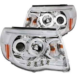 Purchase Anzo USA 121281 Projector Headlight Set; w/Halo Fits 05-11 Tacoma * NEW * motorcycle in Pittston, Pennsylvania, United States, for US $315.02