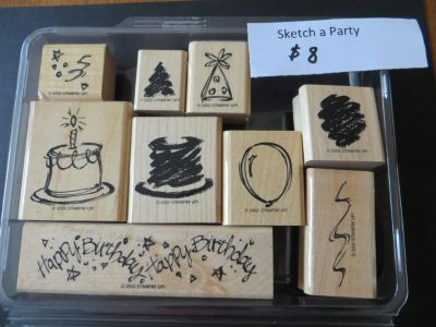Stampin Up Sketch a Party stamp set