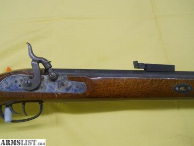 For Sale: CVA HUNTER-HAWKEN 50 CAL BLACK POWDER MUZZLE LOADER TRADITIONAL STYLE RIFLE 50CAL