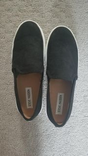 Steve Madden suede sneakers Brand New