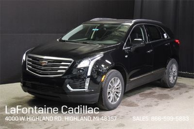 2018 Cadillac XT5 Luxury (Black Metallic)