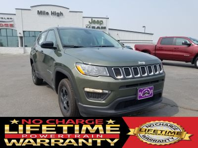 2018 Jeep Compass SPORT 4X4 (Olive Green Pearlcoat)