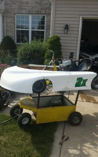 Sell Circle track kart with flat head briggs motorcycle in Kouts, Indiana, US, for US $900.00