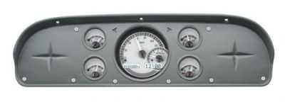Sell 1957-1960 Ford Truck Dash Gauge kit Dakota Digital silver white VHX-57F-PU motorcycle in Fullerton, California, United States, for US $755.25