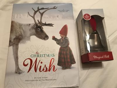 Christmas Wish book Magical Bell