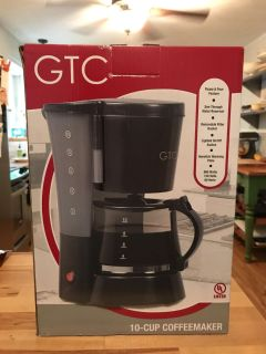 GTC 10 cup coffee maker