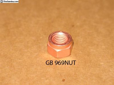 GB 969NUT Copper exhaust nut