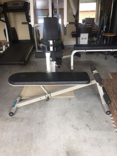 Adjustable Decline bench -PPU in Pace near five points and berry hill