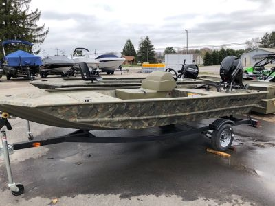 2019 Tracker Grizzly 1648 SC Jon Boats Gaylord, MI