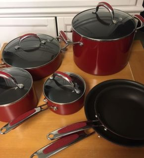 Kitchenaid non-stick 10piece set