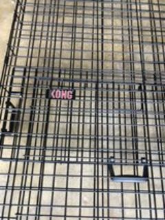 Kong Dog crate XL. -comes with floor base and padded bed