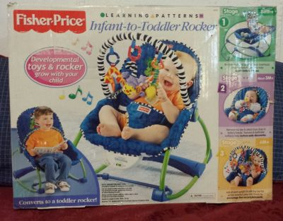 Fisher Price Infant to Toddler Rocker New