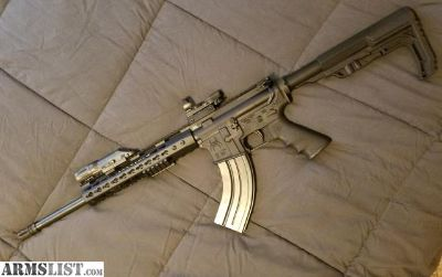For Sale: SPIKES TACTICAL AR47 7.62X39 BATTLE STOCK, KEYMOD FREE FLOAT, LIKE NEW!