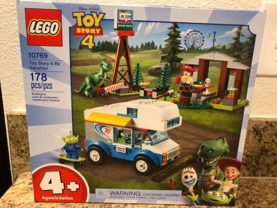 Toy Story 4 Legos Play Set