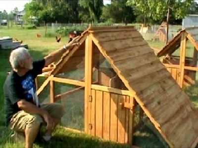 NEW YEAR SPECIAL- Large Chicken Coops for 12 hens- Movable and Easily Winterized