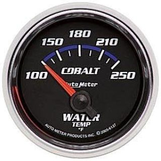 Sell Autometer 2-1/16in. WATER TEMP; 100-250 F; SSE; COBALT motorcycle in Acworth, Georgia, US, for US $76.56