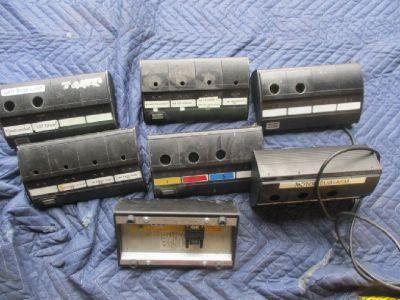 Lot of (7) Atlas Copco Selector 4 Socket Tray RTR#7093081-01