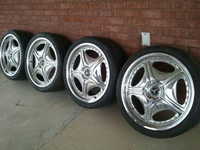Find mercedes 20 inch tires and rims motorcycle in Indianola, Mississippi, US, for US $500.00