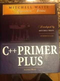 C++ Primer Plus Book - NEW condition with CD