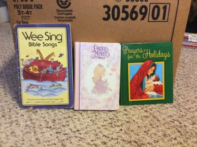 Set of 3 Religious Children s Books/Bible