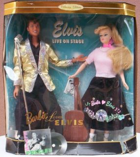 """Barbie Loves Elvis"" Collectible Doll Set"