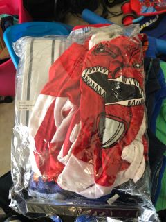 Adult Large Red Power Ranger Costume