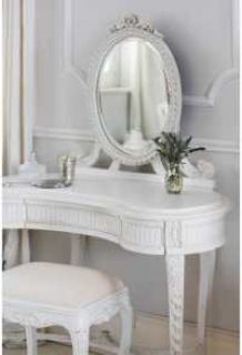 Attractive White Vanity Table Set Online