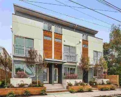 3025 62nd Ave SW Seattle Three BR, This modern Alki townhome is a