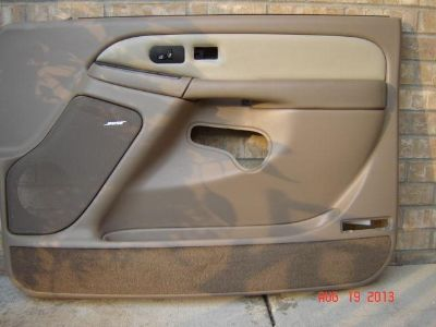 Find 2003 Gmc Denali RT FT Interior door trim panel in near perfect used condition motorcycle in Saint Michael, Minnesota, US, for US $165.00