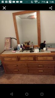 Dresser with mirror... Xpost