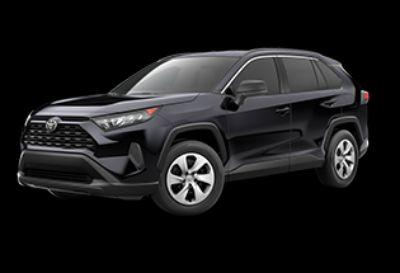 2019 Toyota RAV4 LE (Midnight Black Metallic)