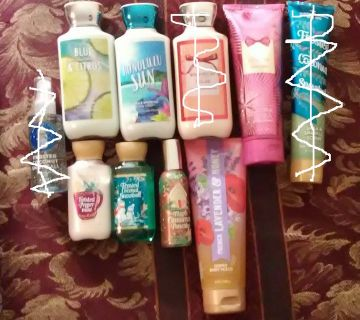 Bath And Body Works Mixed Item Lot*