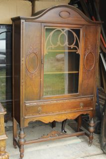 China Cabinet With Bottom Drawer
