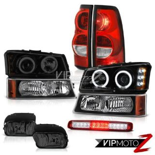 Purchase 2003-2006 Silverado 1500 3RD Brake Lamp Fog Lamps Taillights Parking Headlights motorcycle in Walnut, California, United States, for US $358.47