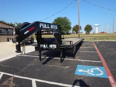 2016 Pull Rite Gooseneck Low Profile Flatbed Trailer