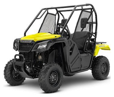 2019 Honda Pioneer 500 Side x Side Utility Vehicles Escanaba, MI