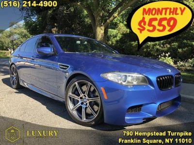 2015 BMW M5 4dr Sdn (Monte Carlo Blue Metallic)