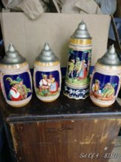 Vintage Collection of beer steins