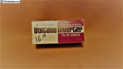 NOS 6V to 12 Inverter