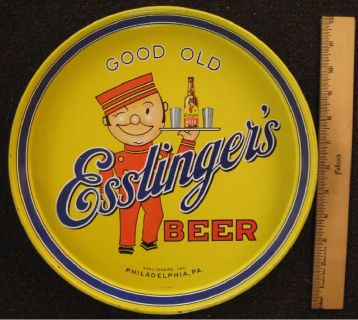 *~~~ Vintage Esslinger's Beer of Philadelphia Bar Tray ~~~*