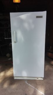 15.3 Frigidaire upright freezer