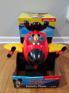 New Mickey Mouse Ride On Plane