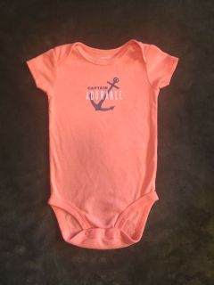 Carter s Captain Adorable Onesie (6M)