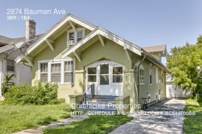 Single-family home Rental - 2874 Bauman Ave