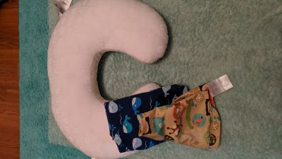 Boppy pillow and two covers