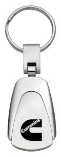 Buy Chrysler Cummins Chrome Teardrop Keychain / Key fob Engraved in USA Genuine motorcycle in San Tan Valley, Arizona, US, for US $14.61