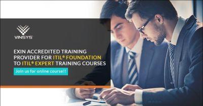 ITIL Foundation Certification – ITIL Training Program in Jeddah by Vinsys.