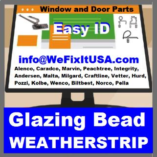 Glazing Bead For Aluminum Vinyl Wood Clad Windows and Doors