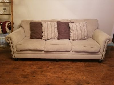 Living room couch / sofa