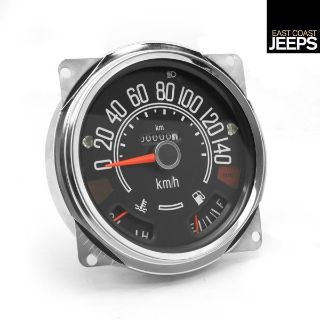 Purchase 17205.03 OMIX-ADA Speedometer Cluster, 0-140 KPH, 80-86 Jeep CJ Models, by motorcycle in Smyrna, Georgia, US, for US $109.23